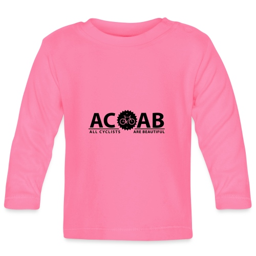 ACAB All Cyclists Are Beautiful T-Shirts - Baby Langarmshirt