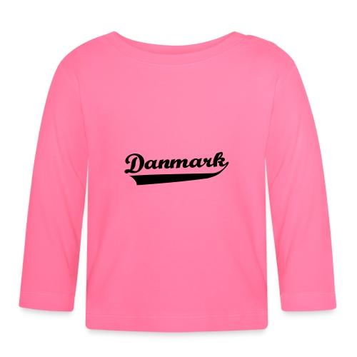 Danmark Swish - Langærmet babyshirt