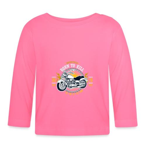 Motorcycle1 - Camiseta manga larga bebé
