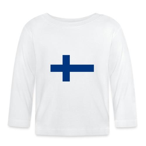 800pxflag of finlandsvg - Vauvan pitkähihainen paita