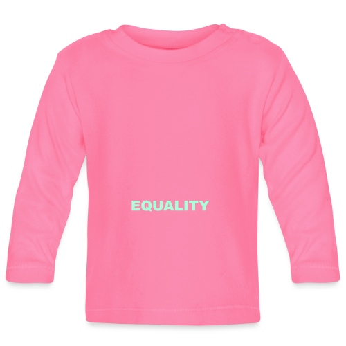 EQUALITY tote - Langarmet baby-T-skjorte
