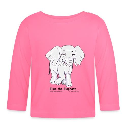 Copyright Clive facing Na - Baby Long Sleeve T-Shirt