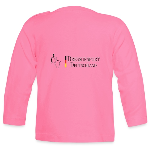 dressursport deutschland horizontal - Baby Langarmshirt