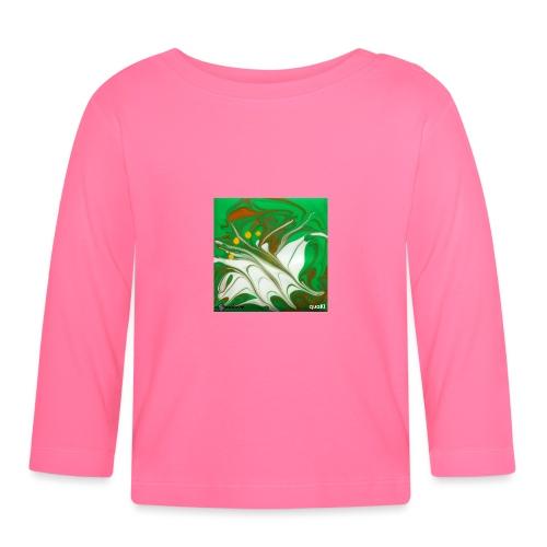 TIAN GREEN Mosaik CG002 - quaKI - Baby Langarmshirt