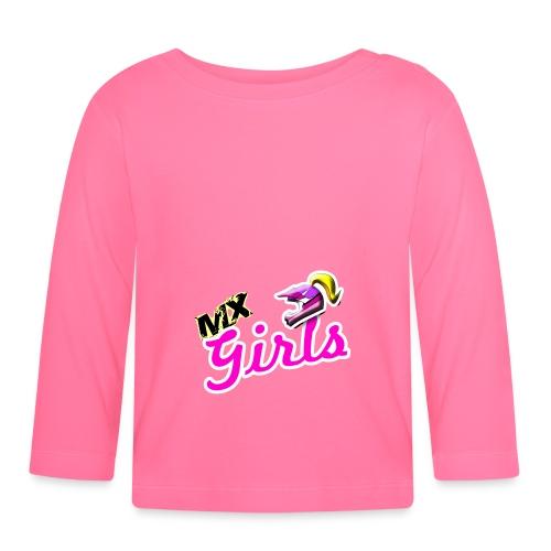 motivo mx girls - Maglietta a manica lunga per bambini