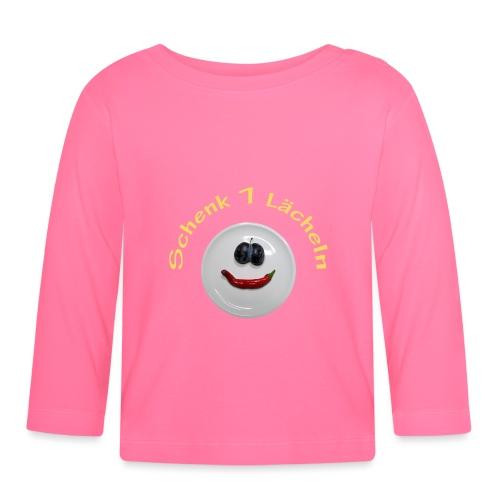 TIAN GREEN - Schenk 1 Lächeln - Baby Langarmshirt