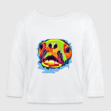 Colorful Foca - Camiseta manga larga bebé