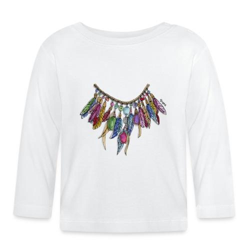 INDIANFJÄDRAR - Långärmad T-shirt baby