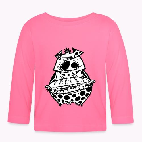 pig vs pig - Maglietta a manica lunga per bambini