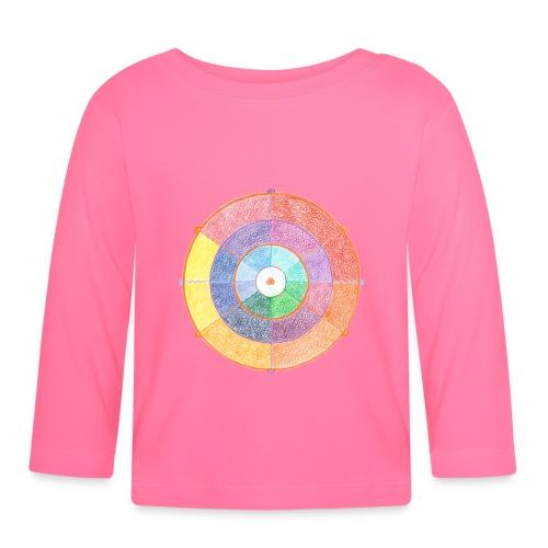 Creativity Rainbow originale png - Maglietta a manica lunga per bambini