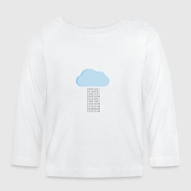 Pada Bits - Koszulka niemowlęca z długim rękawem
