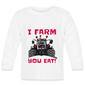 I farm you eat case - T-shirt