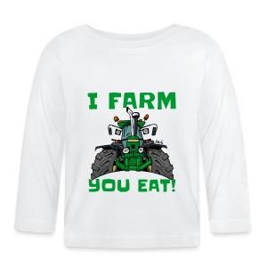 I farm you eat jd - T-shirt
