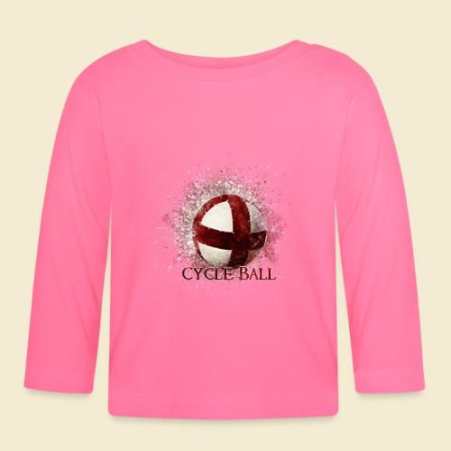 Radball | Cycle Ball - Baby Langarmshirt