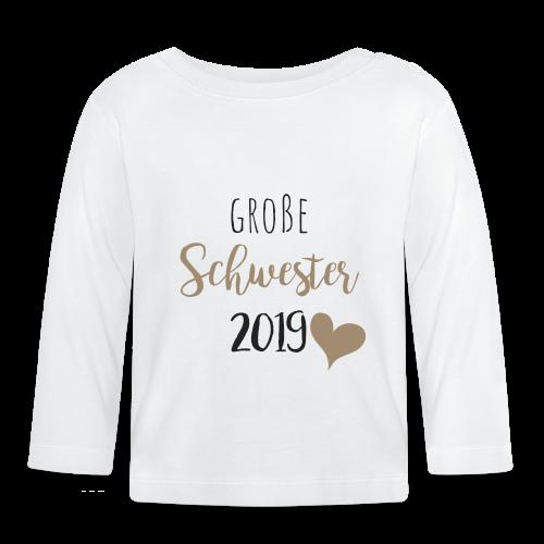 Große Schwester 2019 - Baby Langarmshirt