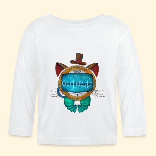 Shoupignon - Chat robot Steampunk - T-shirt manches longues Bébé