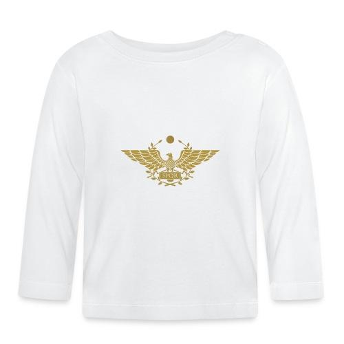 Orzeł SPQR | Eagle of SPQR - Koszulka niemowlęca z długim rękawem