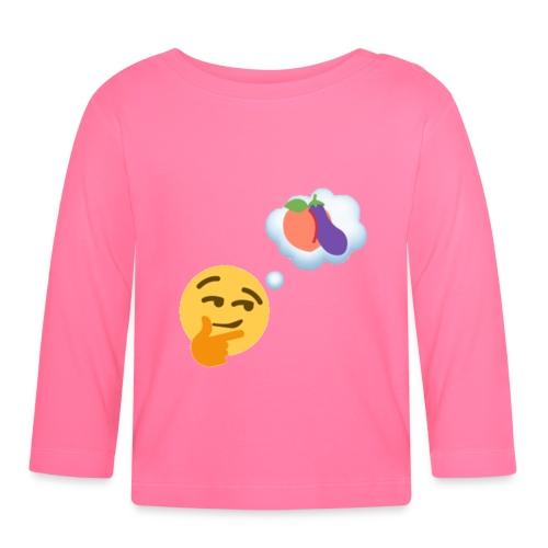 Johtaja98 Emoji - Vauvan pitkähihainen paita