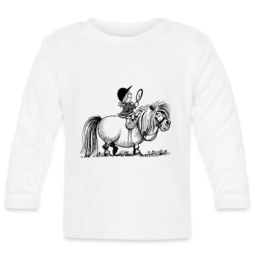 Thelwell - Penelope with a mirror - Baby Long Sleeve T-Shirt