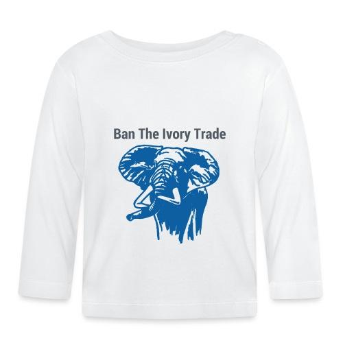 ELEFANT I Ban The Ivory Trade - Baby Langarmshirt