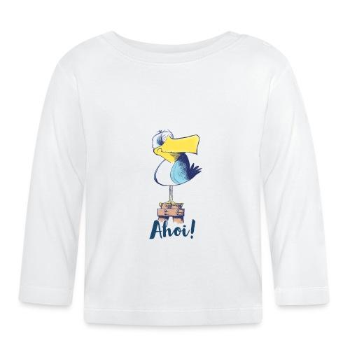 Lustige Ahoi Moewe - Baby Langarmshirt