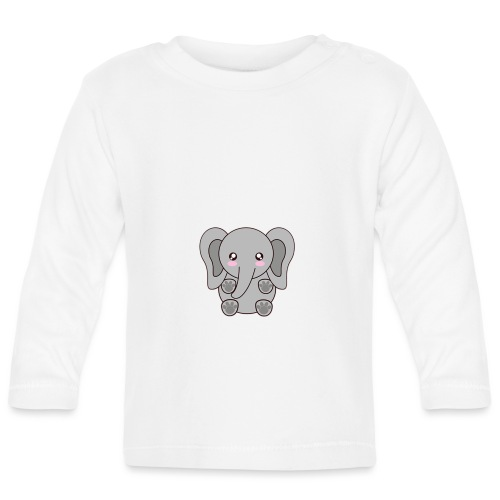 elefante - Baby Long Sleeve T-Shirt