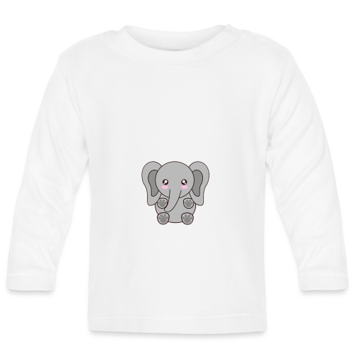 elefante - Baby Long Sleeve T-Shirt