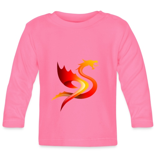 Slay Dragons - Vauvan pitkähihainen paita