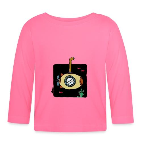 Sous-marin jaune - T-shirt manches longues Bébé