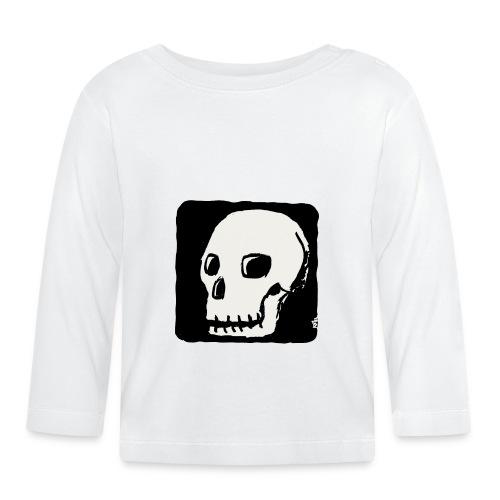 Crâne souriant - T-shirt manches longues Bébé