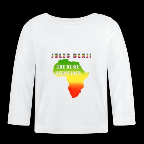 JULES BENJI & MUSIC RESISTANCE africa design - Baby Long Sleeve T-Shirt