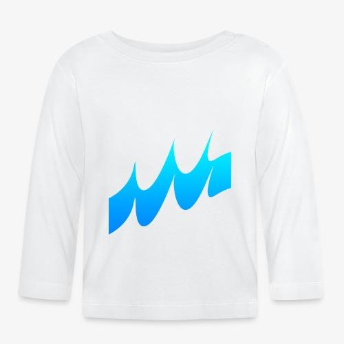 Ocean Waves or just Deep - Baby Long Sleeve T-Shirt