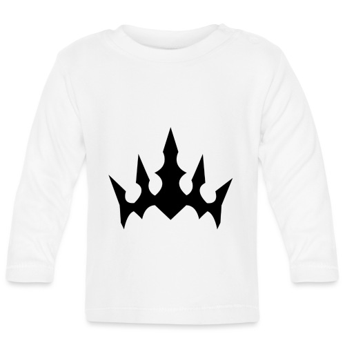 Black Crown - Langærmet babyshirt