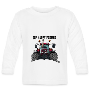 the happy farmer red - T-shirt