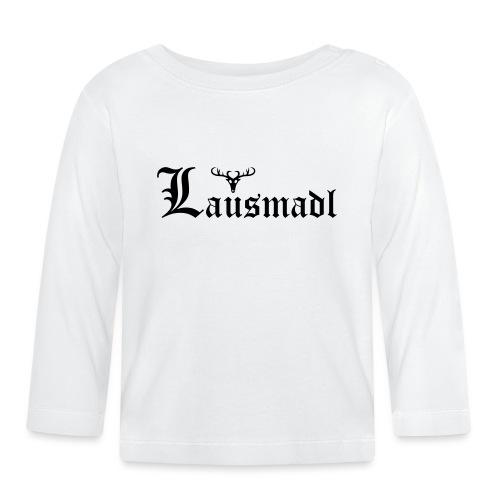 Lausmadl mit Hirsch - Baby Langarmshirt