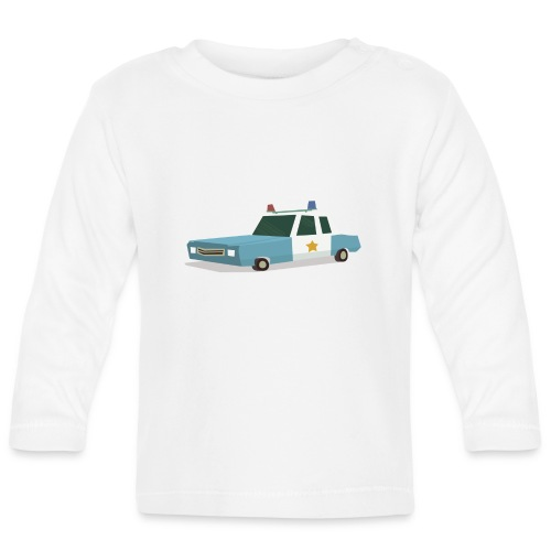 Police car t shirt - Baby Long Sleeve T-Shirt