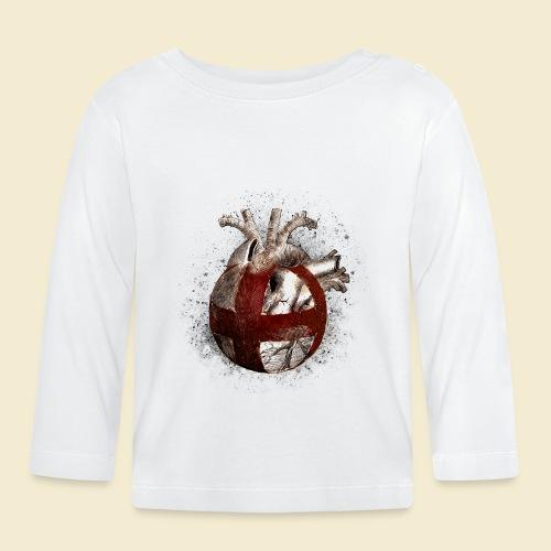 Radball | Cycle Ball Heart - Baby Langarmshirt