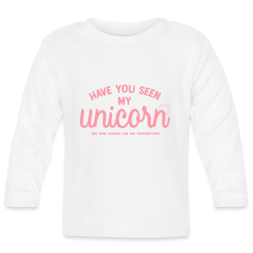 Unicorn pink - Baby Long Sleeve T-Shirt