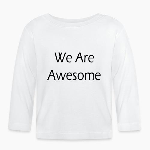 WAA bl sf - T-shirt manches longues Bébé