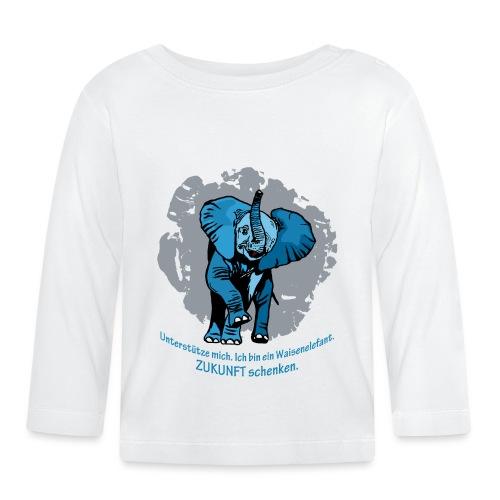 Zukunft schenken - Baby Langarmshirt