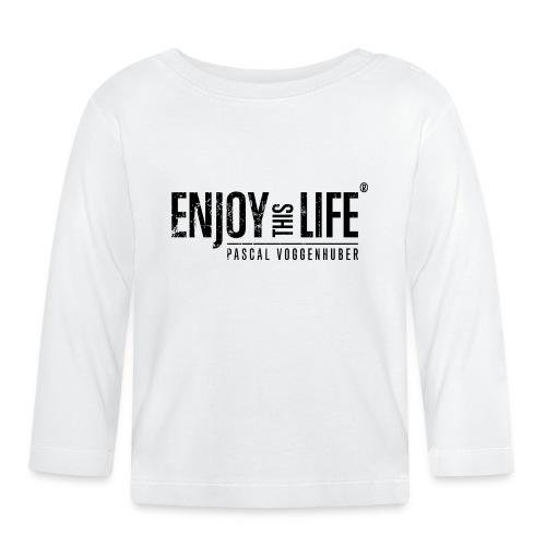 Enjoy this Life®-Classic Black Pascal Voggenhuber - Baby Langarmshirt