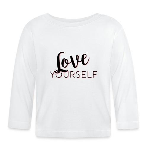 Love Yourself -Schriftzug Pascal Voggenhuber - Baby Langarmshirt