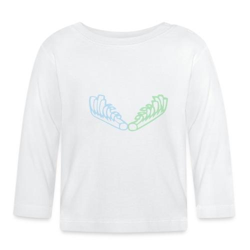 Kiehiset Technicolour - Vauvan pitkähihainen paita