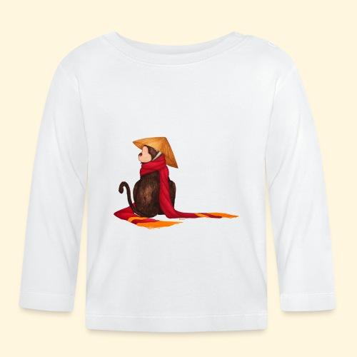 Un singe en hiver - T-shirt manches longues Bébé