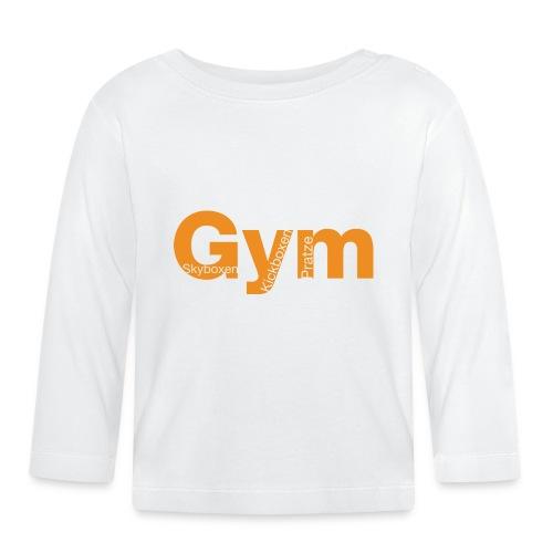 Gym orange - Baby Langarmshirt