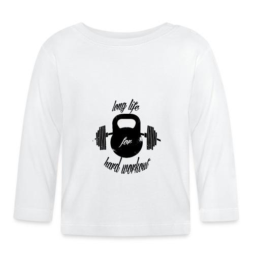 long life for wokrout - Maglietta a manica lunga per bambini