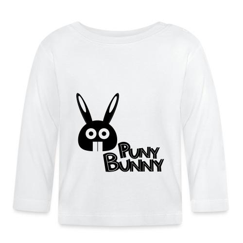 Puny Bunny text - Vauvan pitkähihainen paita