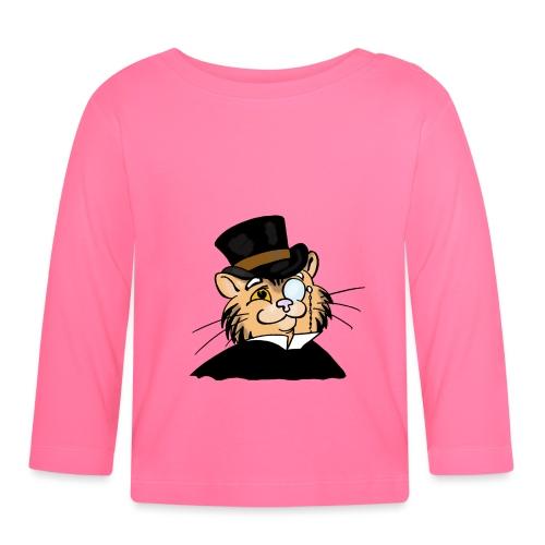 Gatto nonno - Maglietta a manica lunga per bambini