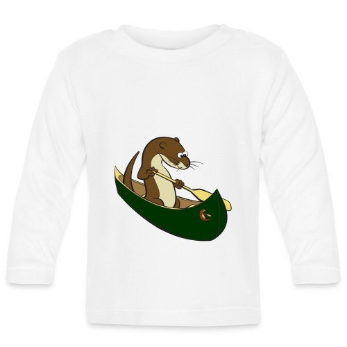 greencanoewithsticker - Baby Long Sleeve T-Shirt