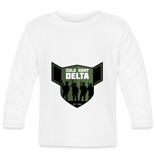 Zulu X-Ray Delta Logo - Baby Long Sleeve T-Shirt